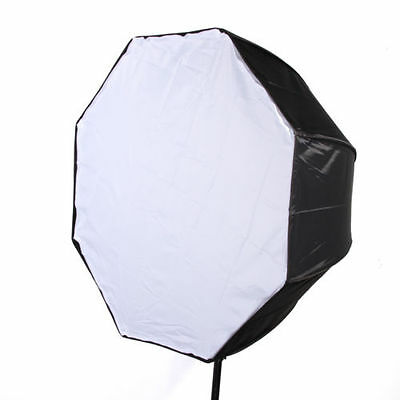 "80cm 32"" Octagon Softbox Umbrella Reflector F Flash Speedlite Studio Photography"