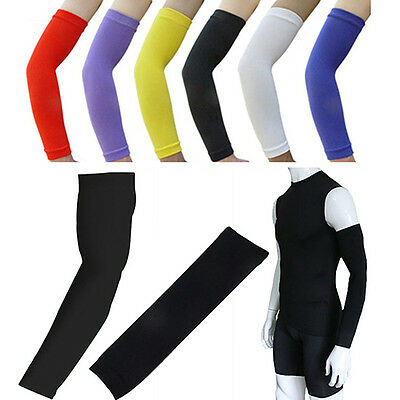 Sports Armlet Basketball Bike Elastic Arm Sleeve Guard Cover Protector Welcome