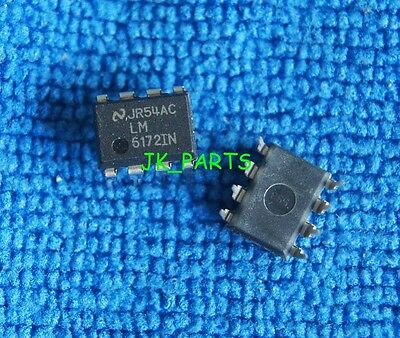 1pcs Original and New LM6172IN LM6172 DIP-8 NSC