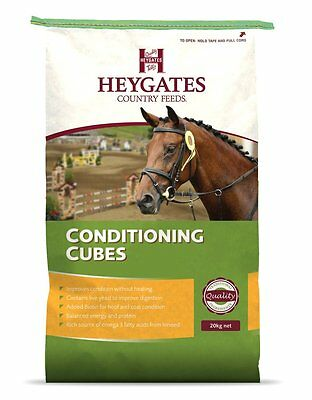 Heygates Conditioning Cubes With Live Yeast 20Kg Horse-Food-Feed