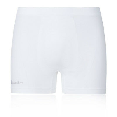 Odlo Evolution Light Hombre Blanco Sin Costura Correr Ropa Interior Boxer Shorts