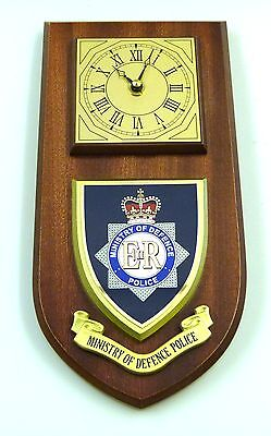 Mod Ministry Of Defence Police Hand Made To Order Regimental Wall Clock