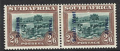 South West Africa Sg52 1927 2/6 Green & Brown Mtd Mint