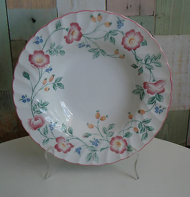 Lovely Churchill England Replacement Rim Soup Bowl *Briar Rose Pattern