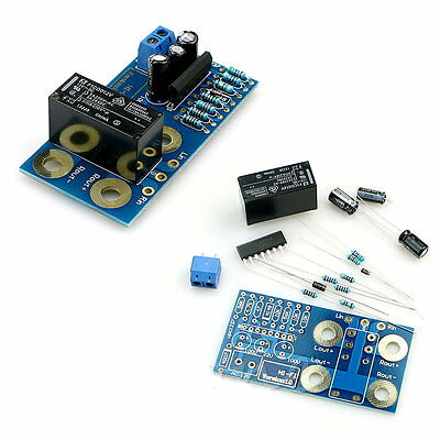 Dual 2 channel UPC1237 Speaker Protection Board DIY Boot Delay DC Protection New