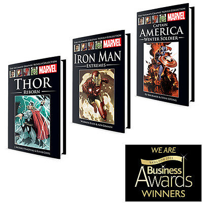 New & Sealed! • Marvel - The Ultimate Graphic Novels Collection • 12 Variations!