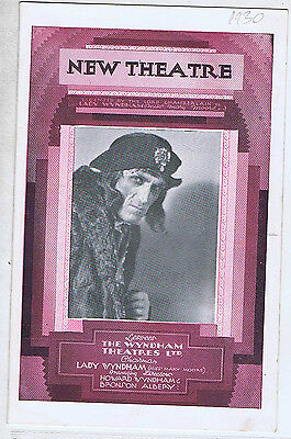 Baliol Holloway As Richard Iii New Theatre Programme 1930 Jc