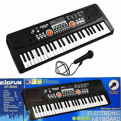 Childs Electronic Keyboard Musical Instrumental Educational Toy with Microphone