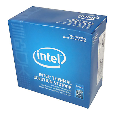 New Intel Thermal Solution STS100P For Xeon Processors Socket LGA1366