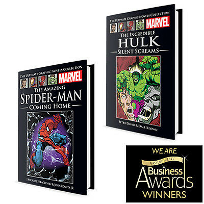 Like New!! • Marvel - The Ultimate Graphic Novels Collection • 8 Variations!