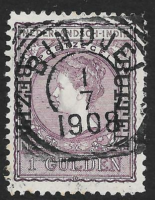 Netherlands Indies stamps 1908 NVPH 97f  Bezit Buiten  CANC  VF