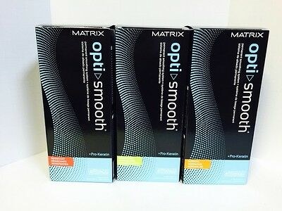 Matrix Opti Smooth Smoothing System Pro Keratin - Full Kit, You Choose Type