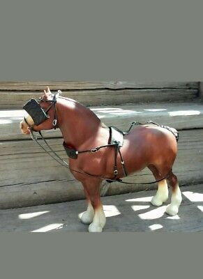 Breyer draft horse harness custom