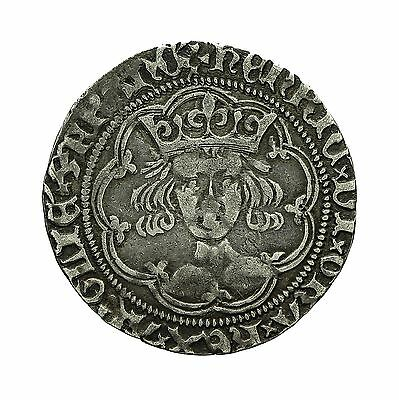 Henry Vi Hammered Silver Annulet Issue Groat London Mint S1835