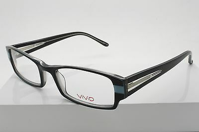 973110f998 Vivid 905 Black   Blue (63) Plastic Eyeglasses Size 50-18-135mm