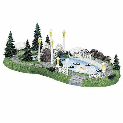 Dept 56 SEASONS BAY PARK  Seasons Bay Collection  SET OF 8  #53428**SHIPS FREE!!