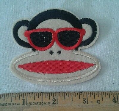Curious George Monkey Face with Sunglasses Patch