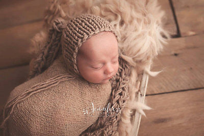 New Stretch Wrap Blanket Swaddle for Newborn Baby Boys Girls Photography Props