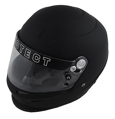 Pyrotect Bell Racing Ultra Sport Helmet Black Xl Snell Sa2010 Full Face Sfi Dot