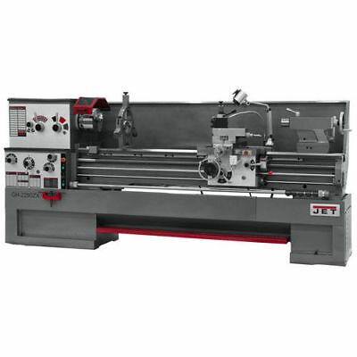 JET GH-1880ZX Large Spindle Bore Precision Lathe 321970 New