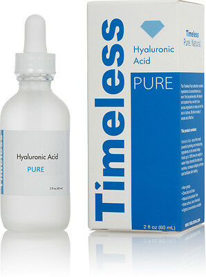 hyaluronic acid serum 100% pure 2 oz (60 ml) Timeless Skin Care free shipping