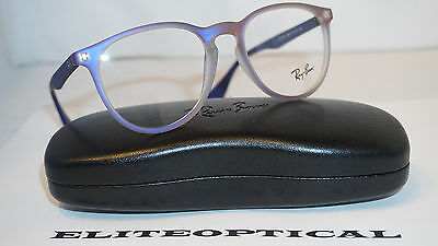 authentic ray ban eyeglasses  Ray-Ban RB 6344 2863 Blue/Silver New Authentic Eyeglasses 54mm w ...