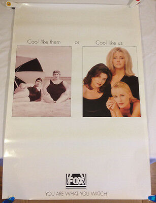 Melrose Place / original Fox image promo Poster 'Cool Like Us' 27 X 40 excellent