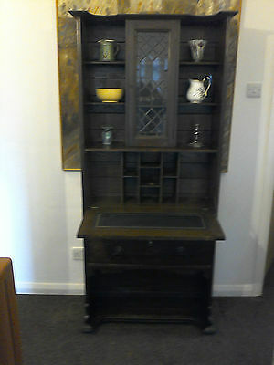 Arts & Crafts Oak Bookcase Cabinet Now £150!