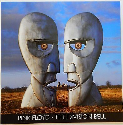 Pink Floyd Division Bell 1994 Album Slick Record Store Promo Poster Display Card