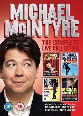 Michael McIntyre: The Complete Live Collection (Box Set) [DVD]