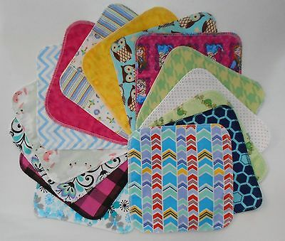 Responsible Assorted 5 Cloth Wipes Tissues Baby Flannel 2 Ply Family Cloth Reusable Random Baby Wipes Baby