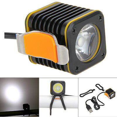 USB Rechargeable 1000lm CREE XM-L T6 LED Front Bike Bicycle Headlight Light Lamp