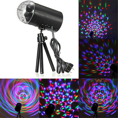 Mini Laser Projector RGB DJ Disco Light Stage Lighting Show Xmas Party Decor UK