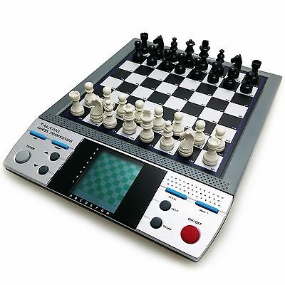 TALKING CHESS 8 Challenging Brain Game Computer Teaching Voice System Free Ship