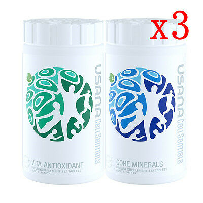 USANA CellSentials - Replacement of USANA Essentials *AUST STOCK* x 3 sets