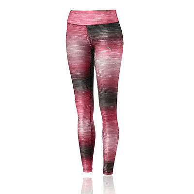 Puma All Eyes On Me Womens Red Running Sports Long Tights Bottoms Pants
