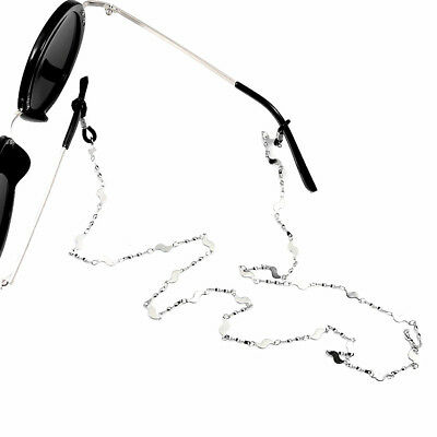 Neck Cord Chain Spectacles Reading Glasses String Lanyard Holder Silver