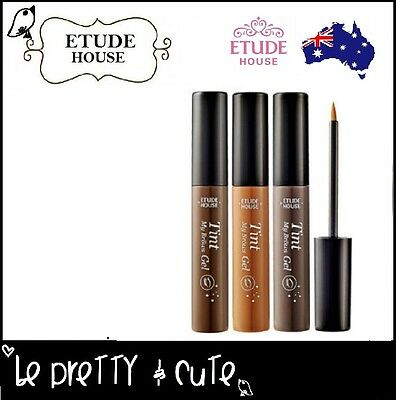 ETUDE HOUSE Tint My Brows Gel Eye Brow Eyebrow Tint Peel Tattoo BRAND NEW