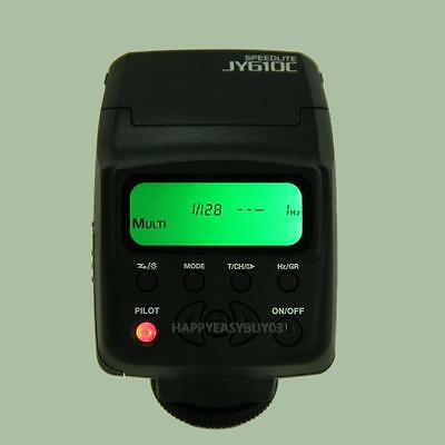Viltrox JY-680A LCD Flashlight Speedlite Lamp For Digital Camera Canon EOS Nikon