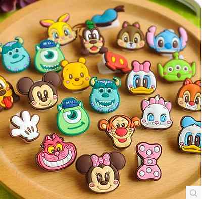 Lot 15 Cartoon Mini Paper Clips Bookmark Mickey Cute Kawaii novelty stationery