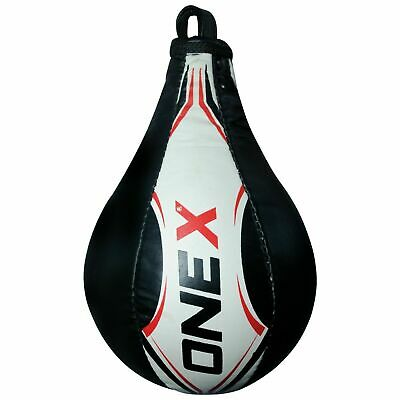Onex Double End Speed Ball Leather Made Boxing Floor to Ceiling Punching Bag