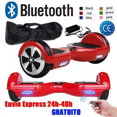 """6.5"""" Hoverboard BLUETOOTH Eléctrico Patinete SCOOTER Self Balancing Skate Board"""