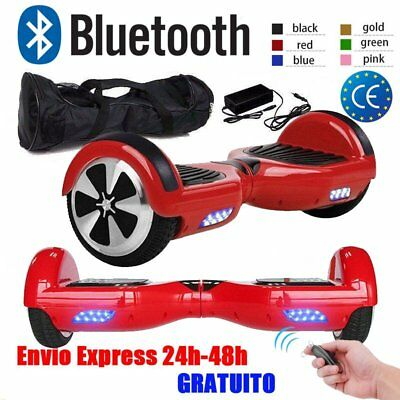 "7.0"" Hoverboard Patinete Eléctrico Smart Scooter Self Balance 20KM Dos Ruedas YB"