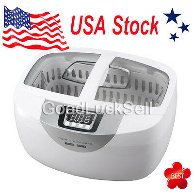 NEW Stainless Steel 2.5L Liter Industry Heated Ultrasonic Cleaner Heater W/Timer