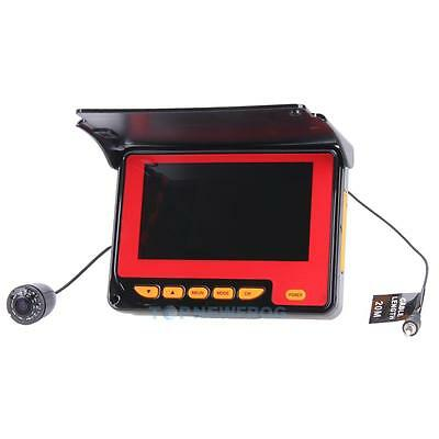 Professional 4.3 Inch LCD Monitor HD 1000 TV Underwater Fish Finder Video Camera
