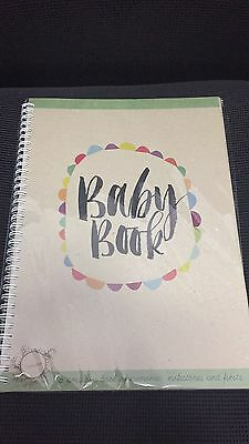 RhiCreative Baby Book - Record Milestones & Memorable Firsts NEW