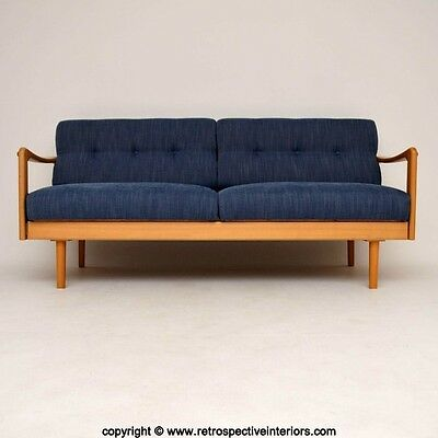 RETRO SOFA BED BY WILHELM KNOLL VINTAGE 1960's
