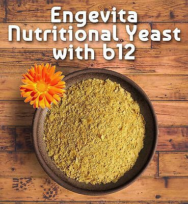 Marigold Engevita Nutritional  Yeast Flakes with Added Vitamin B12 125g