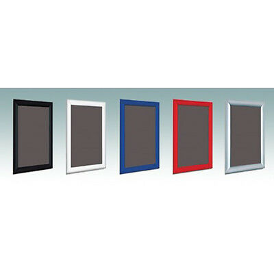 Click Snap Frames Picture Poster Holders Clip Displays Retail Wall Notice Boards