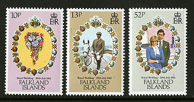 Falkland Islands  1981  Scott #324-326  Mint Never Hinged Set